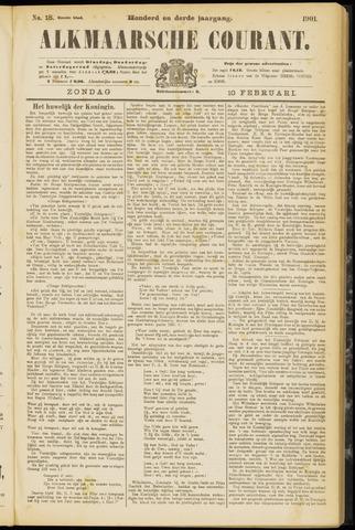 Alkmaarsche Courant 1901-02-10