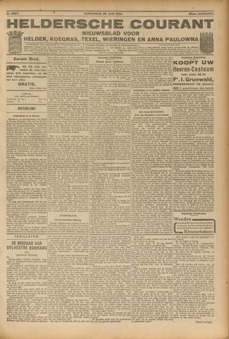 Heldersche Courant 1924-06-26