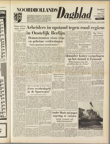 Noordhollands Dagblad : dagblad voor Alkmaar en omgeving 1953-06-17