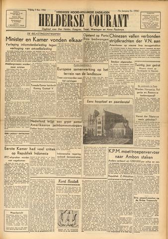 Heldersche Courant 1950-11-03