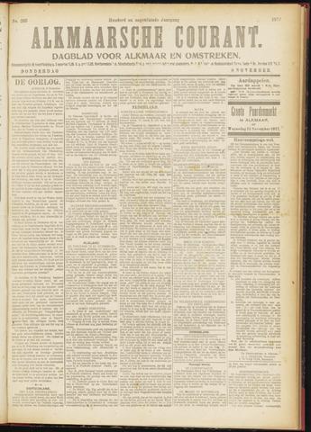 Alkmaarsche Courant 1917-11-08