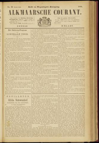 Alkmaarsche Courant 1896-03-22