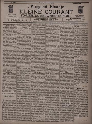Vliegend blaadje : nieuws- en advertentiebode voor Den Helder 1896-10-14