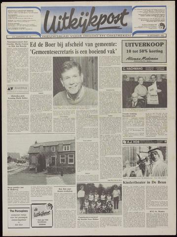 Uitkijkpost : nieuwsblad voor Heiloo e.o. 1992-12-23