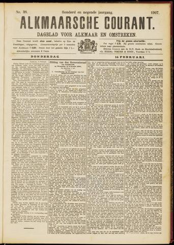 Alkmaarsche Courant 1907-02-14