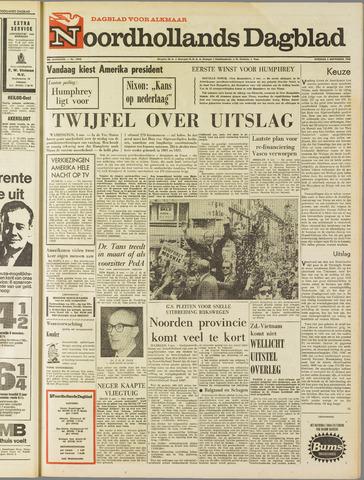 Noordhollands Dagblad : dagblad voor Alkmaar en omgeving 1968-11-05