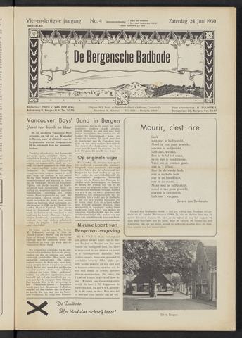 Bergensche bad-, duin- en boschbode 1950-06-24