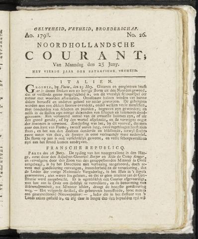 Noordhollandsche Courant 1798-06-25