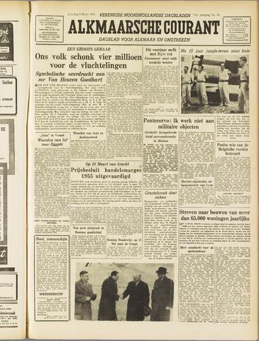 Alkmaarsche Courant 1955-03-05