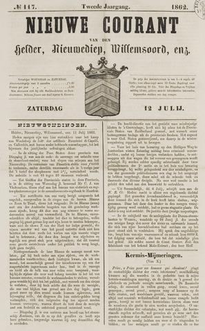 Nieuwe Courant van Den Helder 1862-07-12
