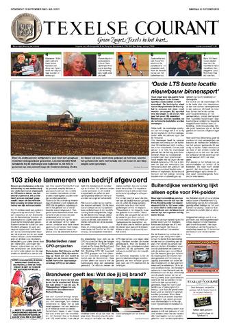 Texelsche Courant 2012-10-30