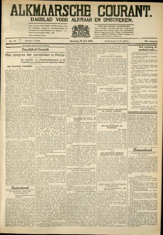 Alkmaarsche Courant 1933-07-18