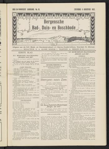 Bergensche bad-, duin- en boschbode 1932-08-06