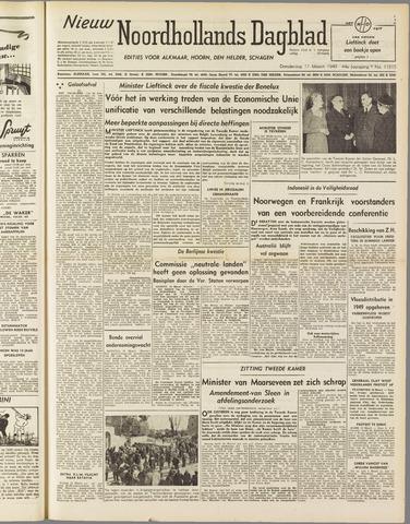 Nieuw Noordhollandsch Dagblad : voor Alkmaar en omgeving 1949-03-17