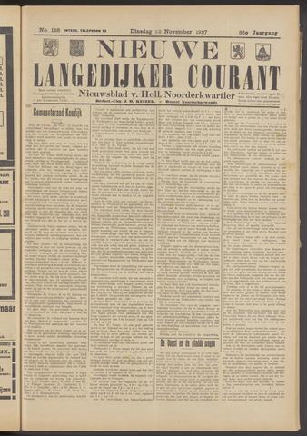 Nieuwe Langedijker Courant 1927-11-22