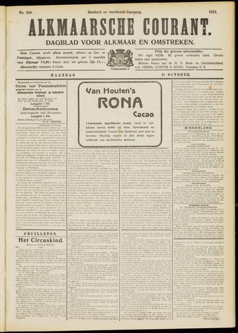 Alkmaarsche Courant 1912-10-21