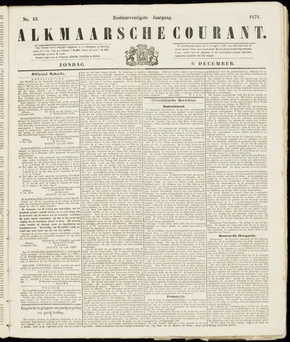 Alkmaarsche Courant 1874-12-06