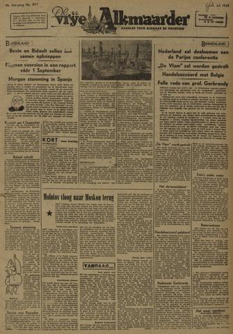 De Vrije Alkmaarder 1947-07-05