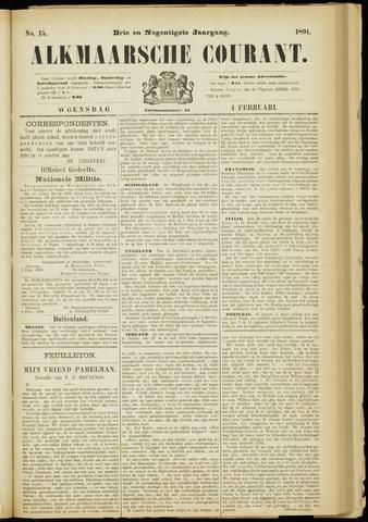Alkmaarsche Courant 1891-02-04