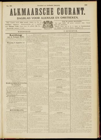 Alkmaarsche Courant 1911-08-02