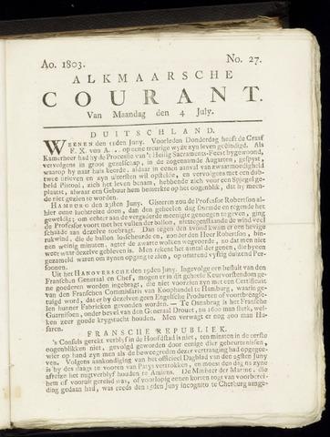 Alkmaarsche Courant 1803-07-04