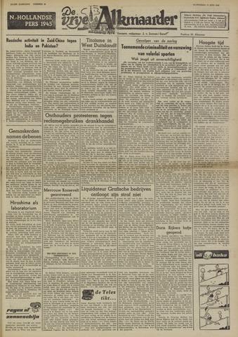 De Vrije Alkmaarder 1950-06-21