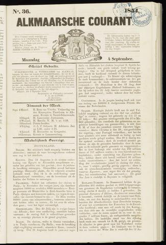 Alkmaarsche Courant 1854-09-04