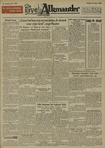 De Vrije Alkmaarder 1948-04-23