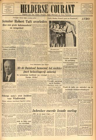 Heldersche Courant 1953-08-01