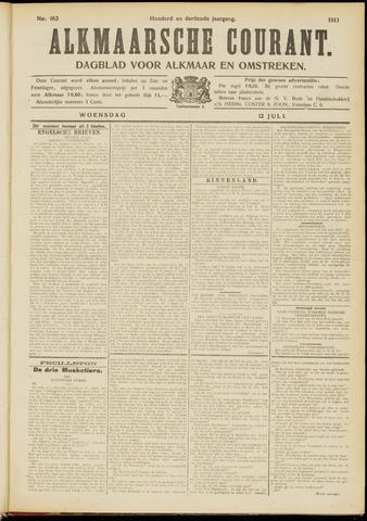 Alkmaarsche Courant 1911-07-12