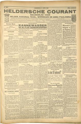 Heldersche Courant 1927-04-14
