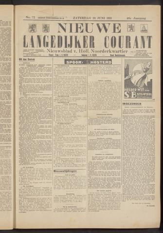 Nieuwe Langedijker Courant 1931-06-20