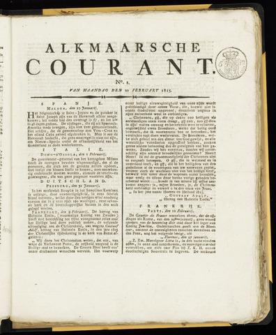 Alkmaarsche Courant 1815-02-20
