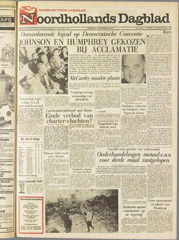 Noordhollands Dagblad : dagblad voor Alkmaar en omgeving 1964-08-27