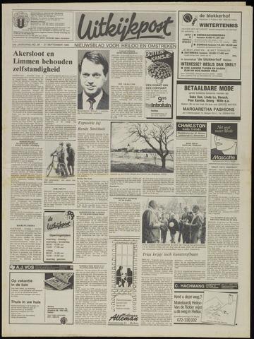 Uitkijkpost : nieuwsblad voor Heiloo e.o. 1989-09-27