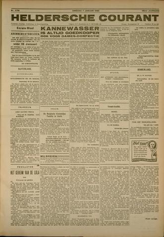 Heldersche Courant 1930-01-07