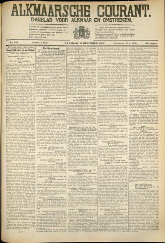 Alkmaarsche Courant 1930-12-15