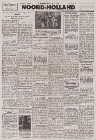 Dagblad Noord-Holland, Schager editie 1943-06-21