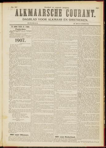 Alkmaarsche Courant 1907-12-31