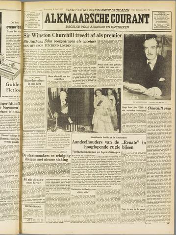 Alkmaarsche Courant 1955-04-06
