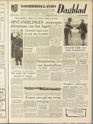 Noordhollands Dagblad : dagblad voor Alkmaar en omgeving 1960-02-01