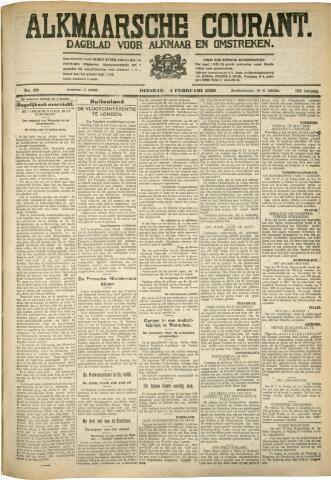 Alkmaarsche Courant 1930-02-04