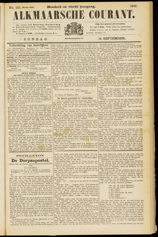 Alkmaarsche Courant 1902-09-14