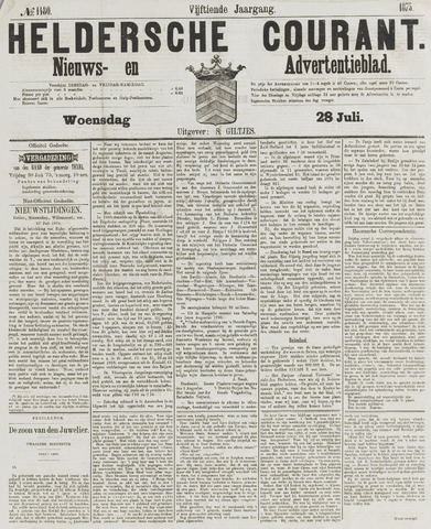 Heldersche Courant 1875-07-28