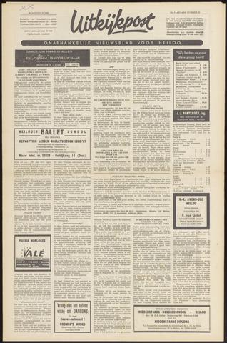 Uitkijkpost : nieuwsblad voor Heiloo e.o. 1966-08-18
