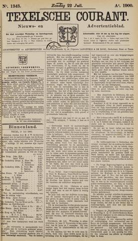 Texelsche Courant 1900-07-22