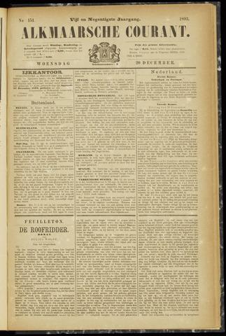 Alkmaarsche Courant 1893-12-20