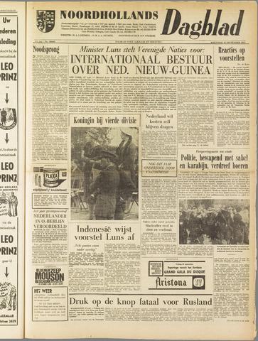 Noordhollands Dagblad : dagblad voor Alkmaar en omgeving 1961-09-27