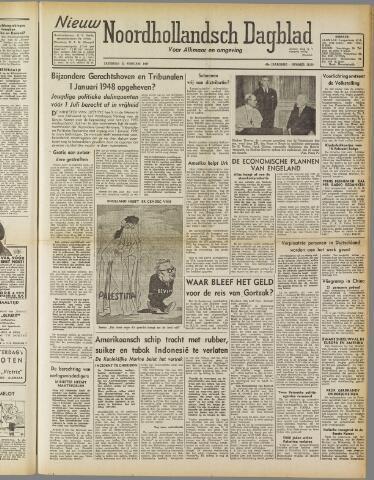 Nieuw Noordhollandsch Dagblad : voor Alkmaar en omgeving 1947-02-22