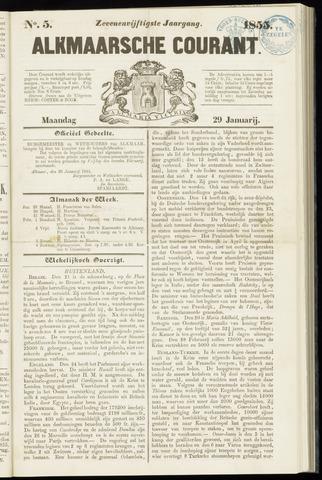 Alkmaarsche Courant 1855-01-29